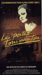 Jaquette de la VHS du film Les Portes tournantes, Francis Mankiewicz