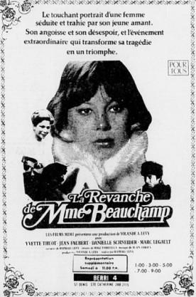 Revanche de Mme Beauchamp, La – Film de Raphaël Lévy
