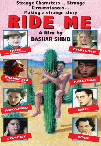 Affiche du film Ride Me de Bashar Shbib (©Oneira Pictures)
