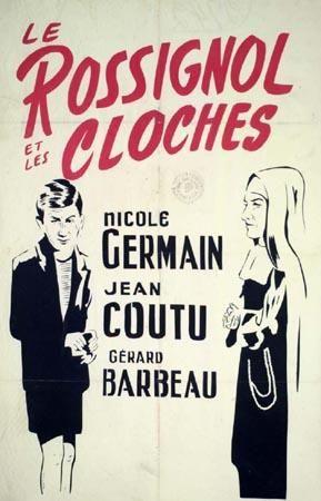 Affiche du film québécois le Rossignol et les cloces (1952)