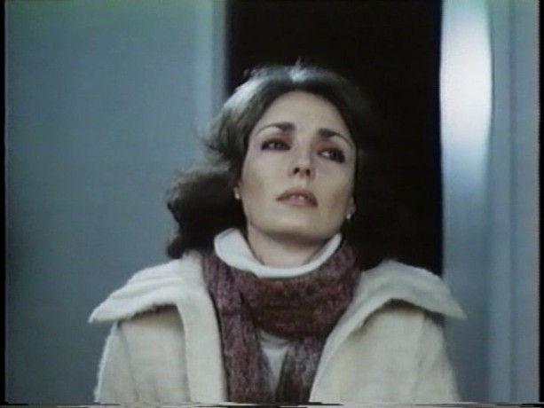 Jennifer O'Neill dans Scanners - cène finale (source: collection personnelle)