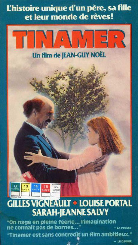 Jaquette VHS du film Tinamer de Jean-Guy Noël