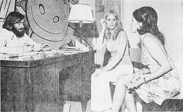 Casting de Tout feu, tout femme de Gilles Richer (1975)