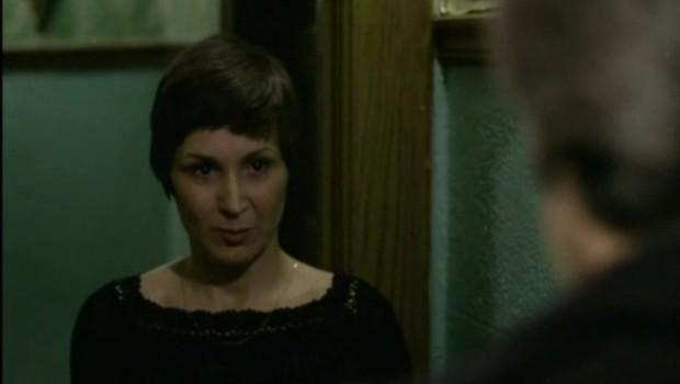Rita Lafontaine dans le film Le soleil se lève en retard d'André Brassard (coll. personnelle)