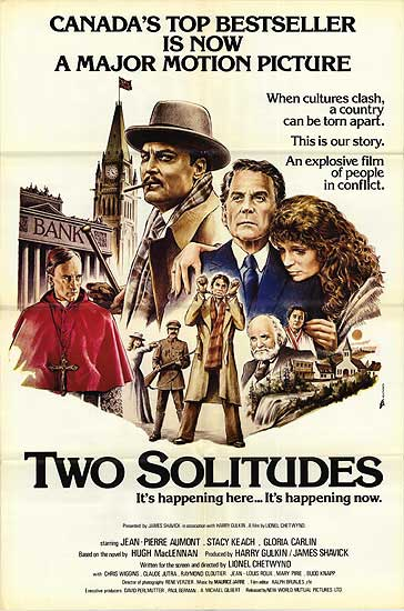 Affiche du film Two Solitudes de Lionel Chetwynd
