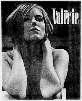 Valérie (Denis Héroux) - encart promo