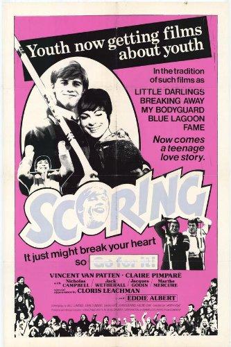 """Affiche du film Gabrielle (Yesterday) de Larry Kent, distribué également sous la titre """"Scoring"""""""