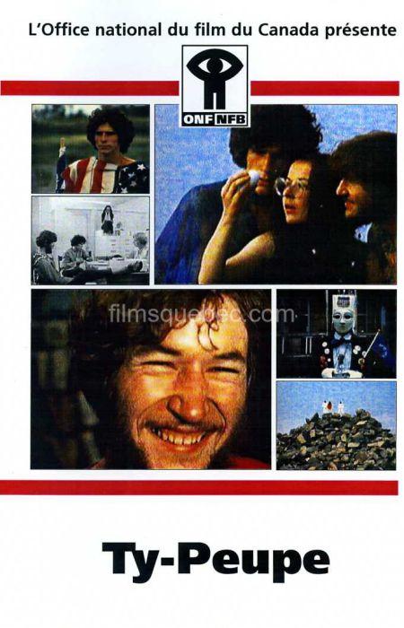 Jaquette VHS du film Ty-peupe de Fernand Bélanger (Collection filmsquebec.com - Reproduction interdite sans autorisation)