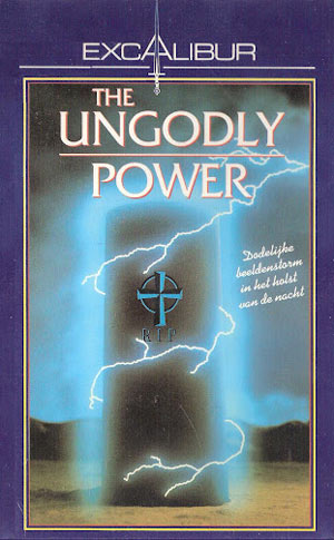Image de la jaquette VHS belge du film Cursed (sous le titre The Ungodly Power)