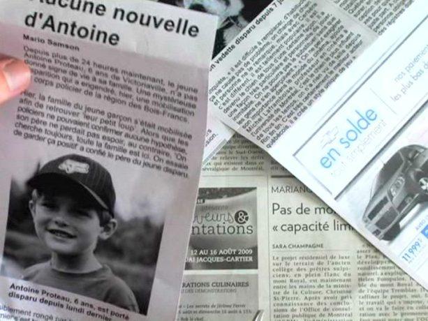 Les ombres électriques - Des nouvelles inquiétantes concernant la disparition d'un jeune de la région - Capture d'écran ©filmsquebec.com