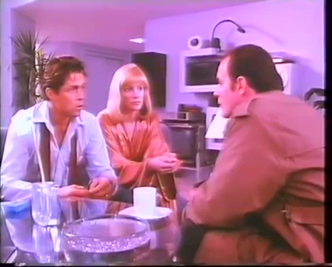 Michael Ironside, Shannon Tweed et Art Hindle dans The Surrogate de Don Carmody (image tirée du film - Collection filmsquebec.com)