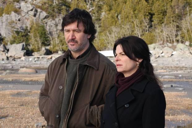 Guylaine Tremblay et François Papineau dans Trois temps après la mort d'Anna (©K Films Amérique)