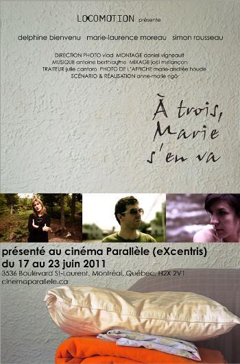 Affiche du film À trois Marie s'en va de Anne-Marie Ngô
