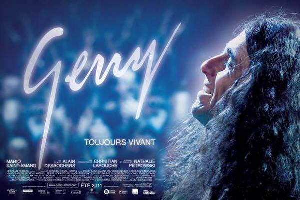 Affiche finale du film Gerry, d'Alain DesRochers