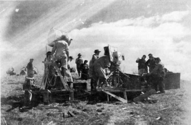Photo de tournage du film Le gros Bill (source filmsquebec.com)