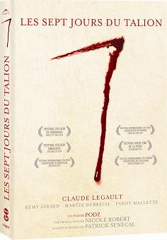 7 jours du Talion, Les (Pochette DVD ©Alliance Vivafilm)