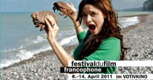 Festival du film francophone de Vienne 2011 (visuel)