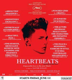 Les amours imaginaires: un prix de consolation remporté à Cannes