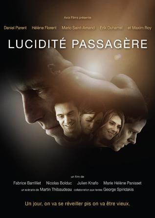 Lucidité passagère (Pochette DVD & copy;TVA Films)