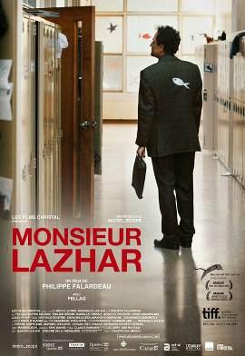 Monsieur Lazhar – Film de Philippe Falardeau