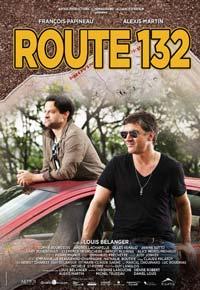 Route 132 de Louis Bélanger (Affiche)
