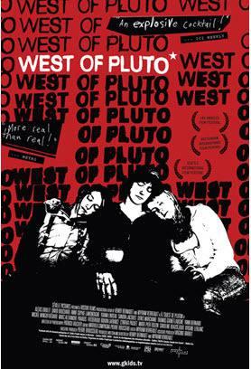Affiche américaine du film À l'ouest de Pluton