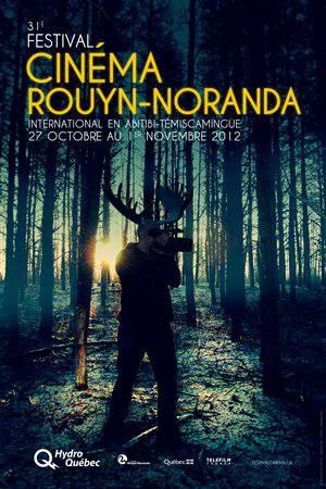 Affiche du Festival du cinéma international en Abitibi-Témiscamingue 2012