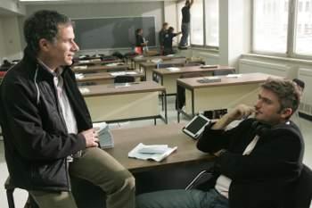 Pierre Even (g), Sébastien Rose (dr) - tournage Le Banquet   ©Alliance Vivafilm