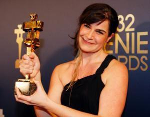 Anne Émond et son prix Claude-Jutra 2012