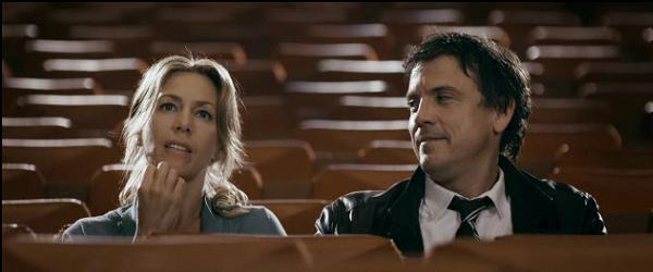 Céline Bonnier et Claude Legault dans French Kiss - ©TVA Films