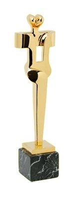 La statuette de Sorel Etrog servant aux Prix Génie