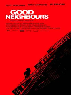 Affiche du thriller québécois Good Neighbours de Jacob Tierney