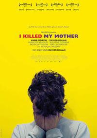 J'ai tué ma mère (Affiche Allemande)
