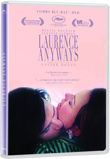 Pochette DVD du film Laurence Anyways (©Alliance Vivafilm)