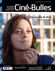 Couverture revue Ciné-Bulles vol.31 - no 1