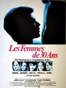 Les Femmes de trente ans (George Kaczender) - Affiche française