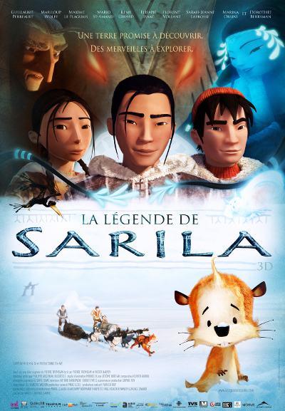 Affiche du film d'Animation en 3D La légende de Sarila
