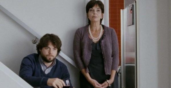 Micheline Bernard et Pierre-Luc Brillant dans La mise à l'aveugle de Simon Galiero