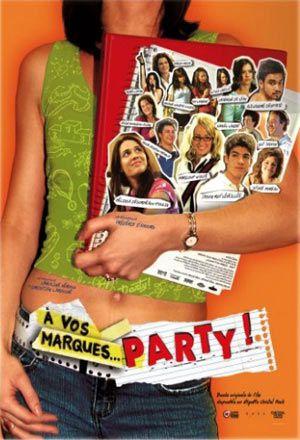 Affiche du film québécois À vos marques party!