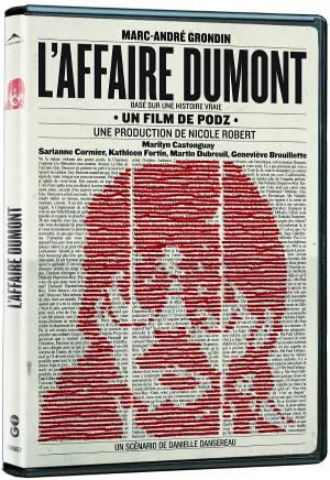 Pochette DVD du film L'affaire Dumont (Podz, 2011)