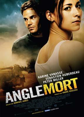 Affiche du thriller québécois Angle mort de Dominic James