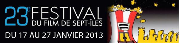Bannière web du Festival Ciné 7 de Sept-Îles