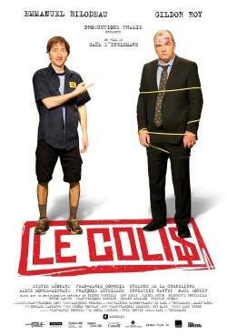 Affiche de la comédie Le colis de Gaël d'Ynglemare