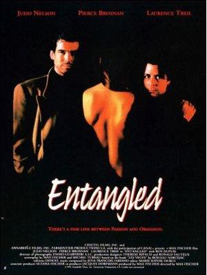 Affiche française du film de Max Fischer Entangled (Les veufs, 1992)
