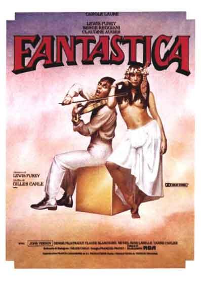 Affiche du film Fantastica de Gilles Carle (1980 - Films Mutuels)