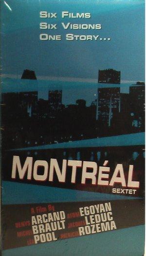 Pochette VHS du film Montréal vu par...