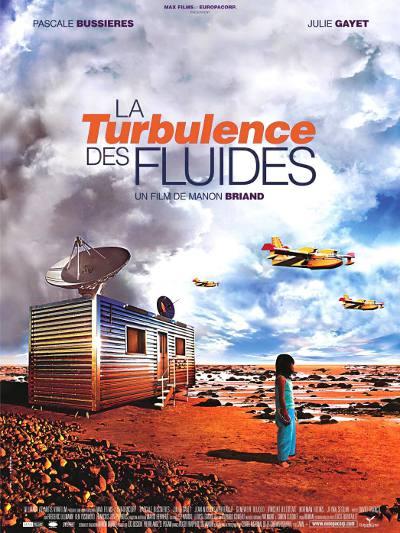 Affiche française du film La Turbulence des fluides de Manon Briand