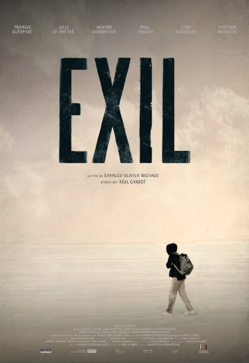 Affiche du film Exil de Charles-Olivier Michaud (©Filmoption International)