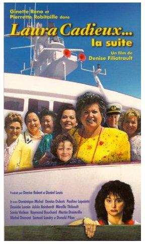 Jaquette de la VHS du film Laura Cadieux La suite (Alliance Atlantis Vivafilm)