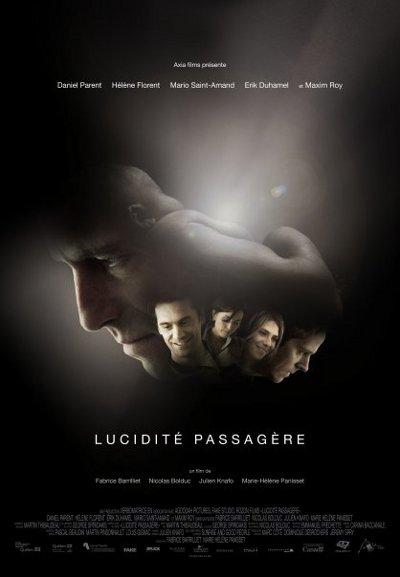 Affiche du film Lucidité passagère (2010, Axia Films)